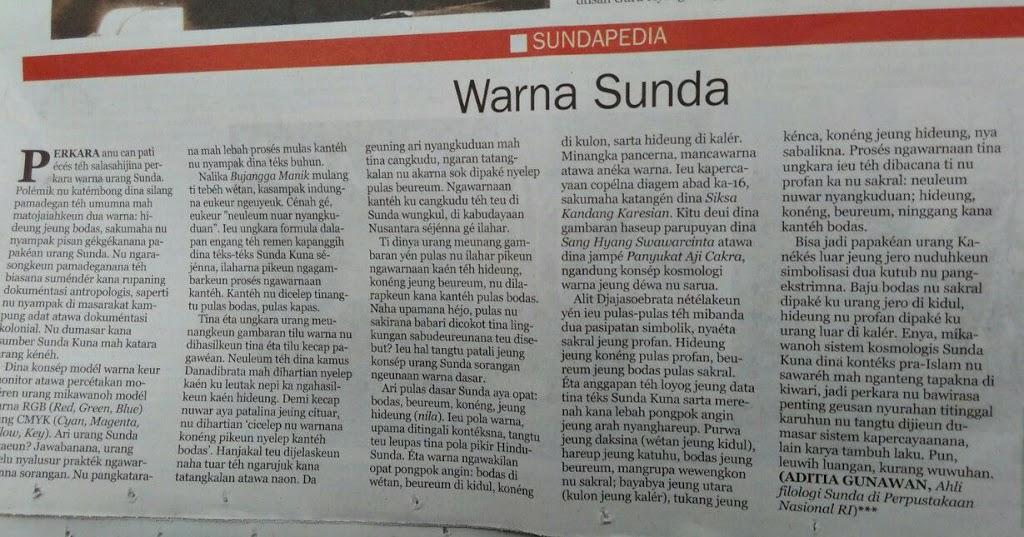 Warna Sunda
