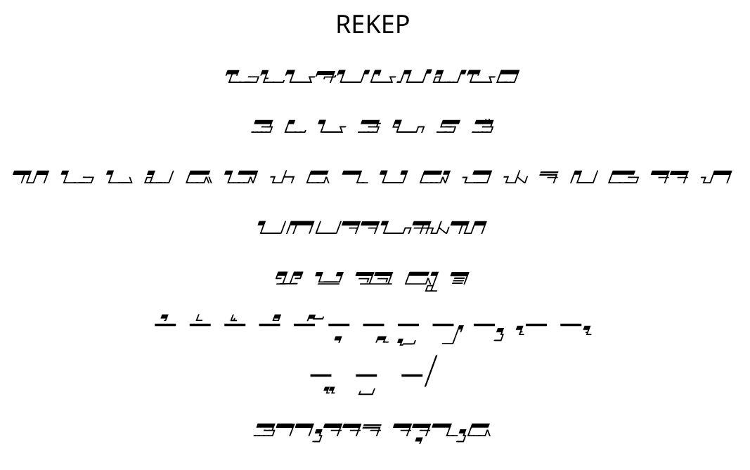 Font Sunda: Saroja (Rekep)