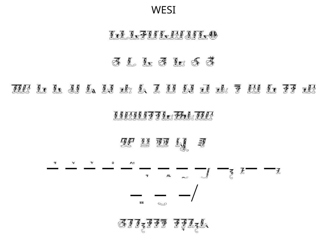 Font Sunda: Kujang (wesi)