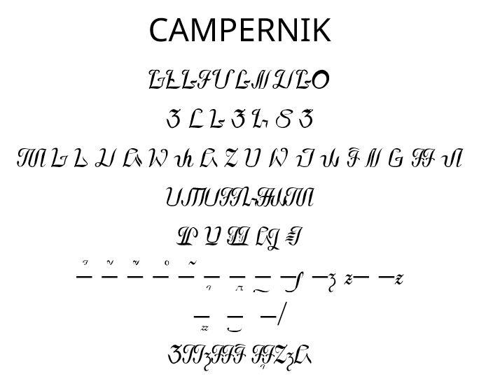 Font Sunda: Campernik