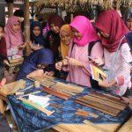 Workshop Penyalinan Lontar Sunda Kuno, Festival Naskah Nusantara IV