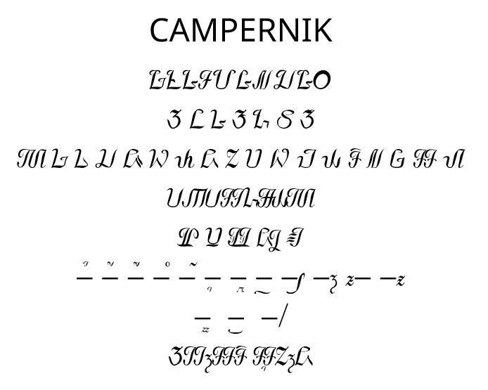 Campernik.ttf